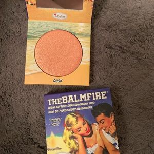 """The balmfire """"night owl"""" blush and highlighter duo"""